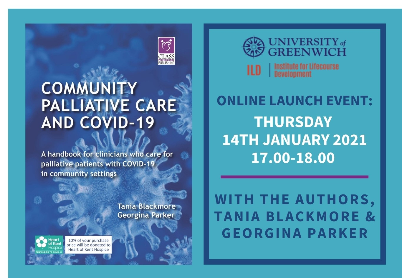 Book Launch - Community Palliative Care and COVID-19